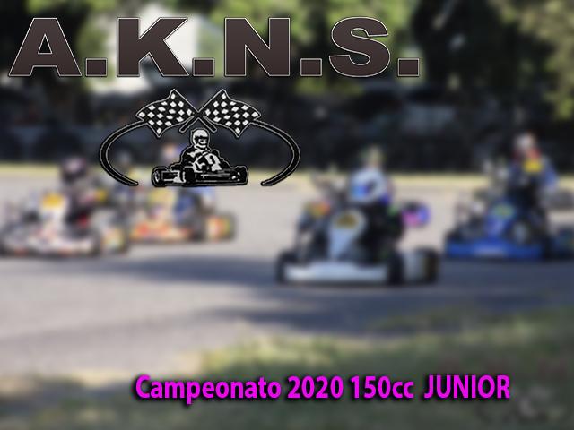 Campeonato 2020 150cc  JUNIOR