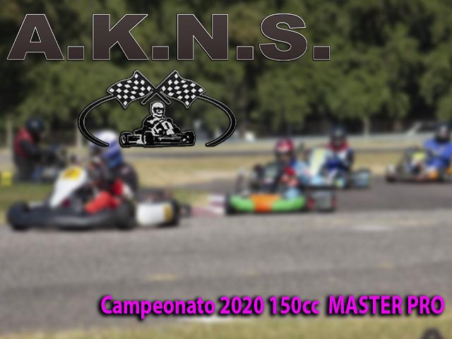 Campeonato 2020 150cc  MASTER PRO