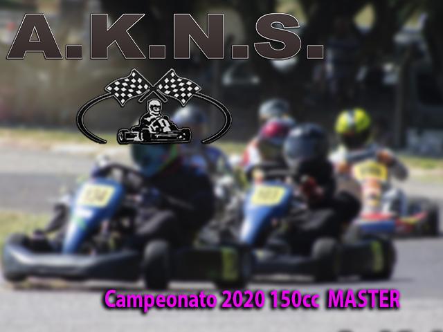 Campeonato 2020 150cc  MASTER