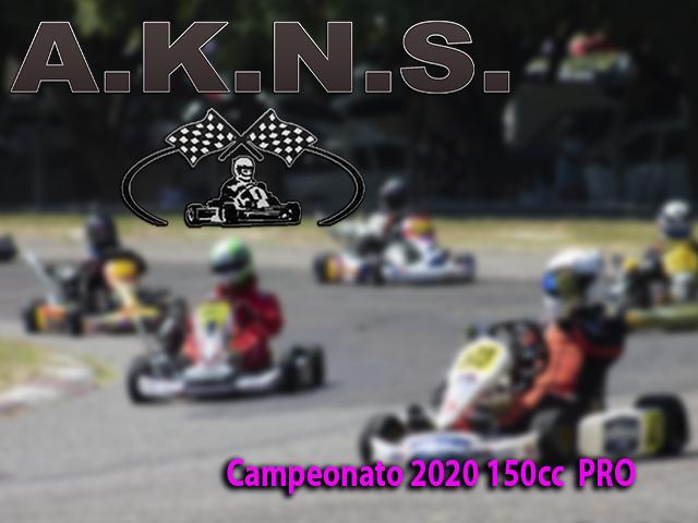 Campeonato 2020 150cc PRO